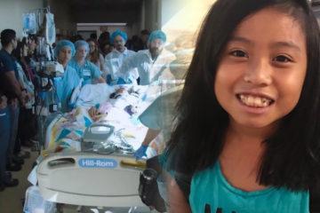 10歲女孩被判「不會再醒」,母親決定器捐「救了80人」,醫生列隊送她走上榮耀之路