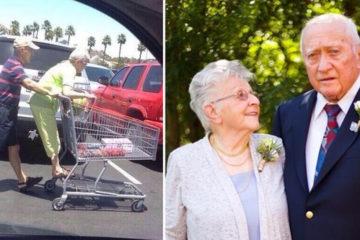 10張甜蜜到老的幸福照片:「不管幾歲,我都把妳當孩子疼」