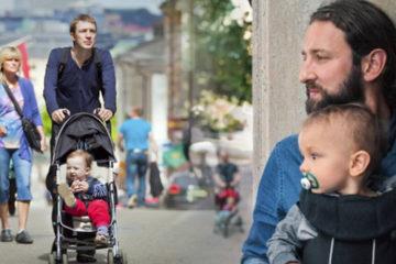 「瑞典」社會男女平等,共享480天育兒假,男人照顧嬰兒是常態