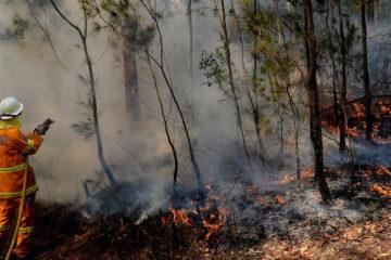 天降甘霖!澳洲下起暴雨,成功澆滅了32處野火