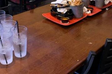 爸媽沒跟!「7位小學男孩」開派對,離開後的桌面,讓人讚嘆:好有教養