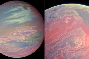 美國太空總署發現「夢幻粉紅螢光行星」!散發粉色流光美不勝收